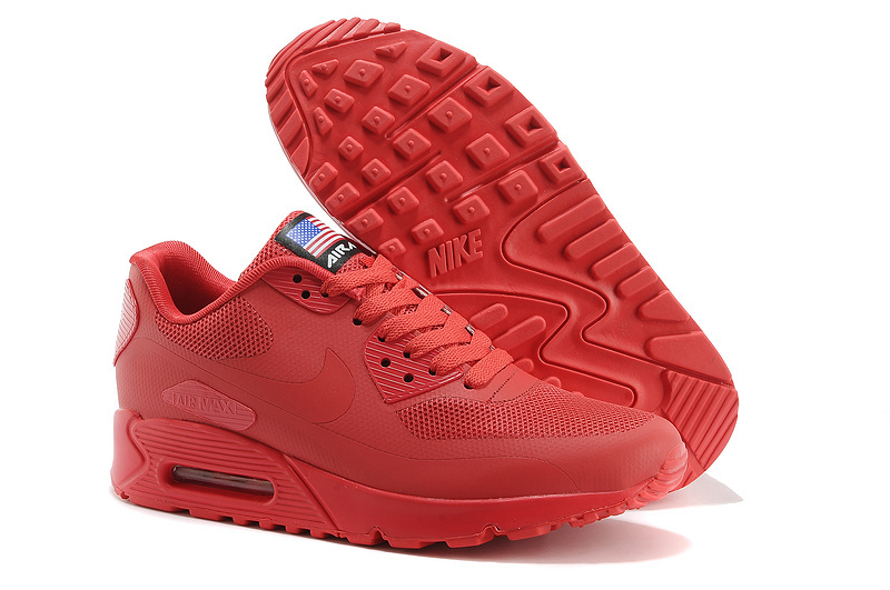 chaussure nike air max 90 rouge